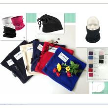Venda quente New Whosale 11 colorido multifunção macia Polar Fleece Neck Warmer Chapéu e lenço