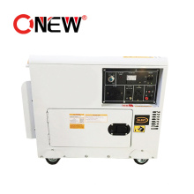 Brushless Type Low Rpm Super Silent Electrical Diesel Generator Permanent Magnet 5kw Price