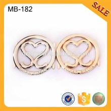 MB182 сплав цинка сплав выполненный на заказ бирка металла металла, бирка металла, логос сумки
