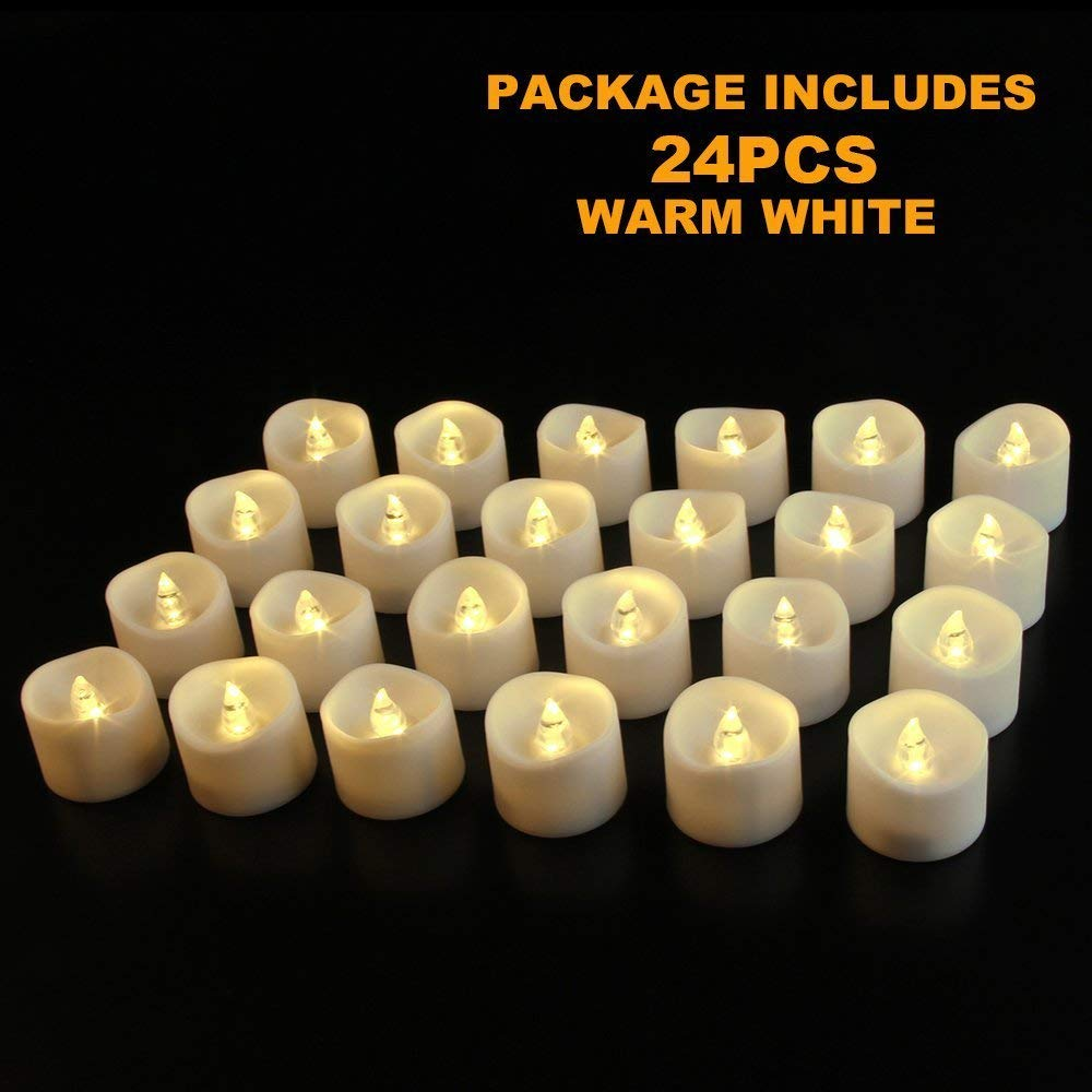 LED tea lights candles