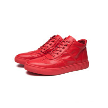 Red and Back Color Men Shoes (YN-10)