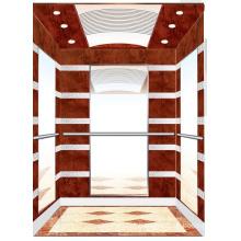 Aksen Wooden Decoration Mrl Passenger Elevator J0341