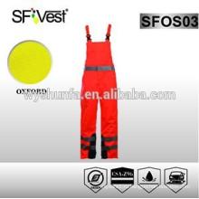 Защитные комбинезоны с защитным оранжевым покрытием с сертификатом EN ISO 20471