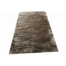 Anti-Slip Comfortable 3D Silk Carpet Tile