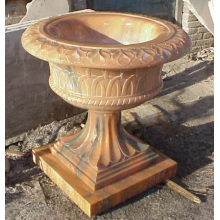 Stone Carving Marble Flowerpot