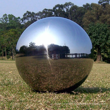 High quality polished outdoor stainless steel 316 sphere for garden park decoration