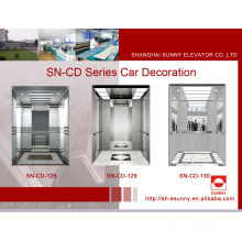 Elevator Cabin Decoration with St. St Frame (SN-CD-128)