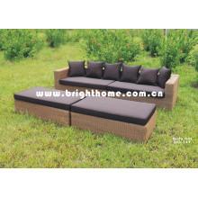 Juego de sofá de aluminio con marco exterior Bg-111