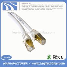 Gold 1M 3FT CAT 7 SFTP LAN Прямой Ethernet сетевой кабель Патч экранированный 10 Гбит / с RJ 45