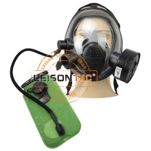 Closed Framework Facepiece Designed Anti-Fold Style Military Full Face Gas Mask Tactical Face Mask  for security firefighting