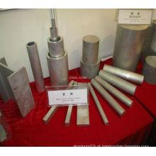Barra plana de alumínio