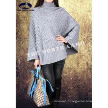 Cape en tricot pour ordinateur 100% cashmere pour femme