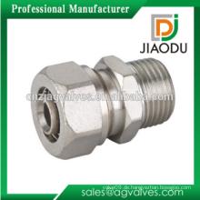 Messing-Stecker-Steckverbinder-Kompressionsverschraubungen für PEX-AL-PEX-Rohr