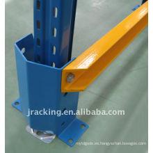 Protector de alto estante de 400 mm con superficie revestida de polvo