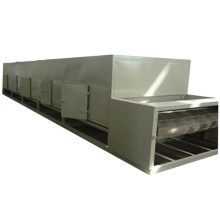 Industrial mesh belt type tunnel hot air circulation drying machine dryer dehydrator equipment for paper pulp material egg tray