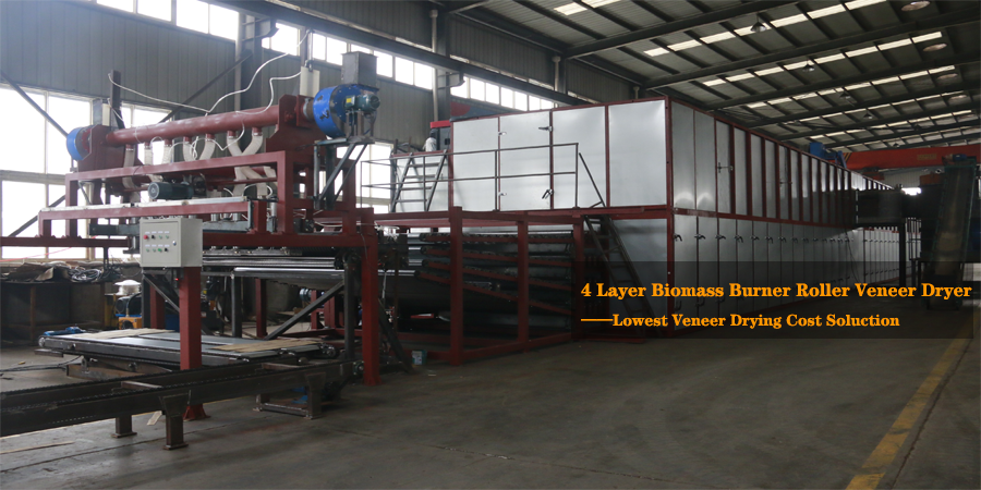 4 Deck Veneer Dryer Machine
