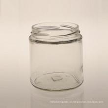 210 мл Цилиндрическая стеклянная банка / упаковочная бутылка