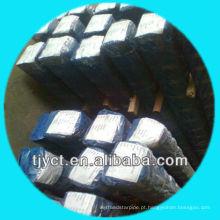 Barras quadradas contínuas de aço inoxidável de superfície estiradas a frio / brilhantes de ASTM A276 201, S8mm-S50mm de fornecedor