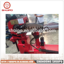 CNC no template irregular dished head edge flanging machine/dish end flanging machine