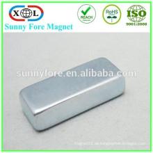 Zink-Beschichtung N52 30 X 15 X 5 Neodym-Magneten