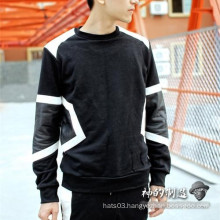 Geometry Patch Sweater Winter Clothing Long Sleees