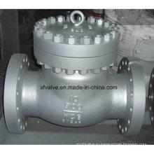 900lb Углеродистая сталь Wcb Фланцевая обратная поворотная заслонка