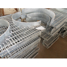 Construction Galvanized Steel Grating with Irregular Shape, Circle, Arc-Shaped