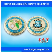 Custom Challenge Metal Coin mit 4-6 Farben