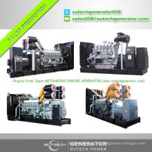 50Hz 750kw Mitsubishi Motor Generator Diesel mit Original Qualität und günstigen Preisen