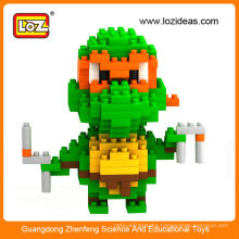 Hot Teenage Mutant Ninja Turtles Classic Collection Michelangelo Diamond Building Block DIY toy 2014 new