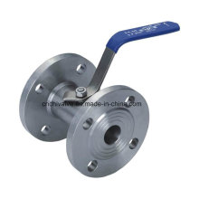 Stainless Casting 1PC Flange Ball Valve