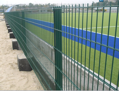 656 Double Wire Mesh Fence Panel