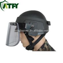 Bulletproof helmet Visor latest Bulletproof Face Shield