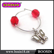 Cheap Wholesale Jewelry Silver Alloy Wine Charm for Decoration