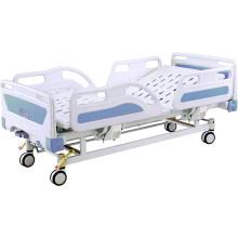 Hospital Furniture Full-Fowler 2 Cranks Manual Hospital Patient Bed
