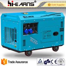 Set de générateur portable silencieux diesel 8.0kw (DG11000SE 8.0KW)