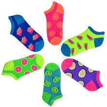 Girl Cotton No Show calcetines / calcetines de fantasía / calcetines de frutas
