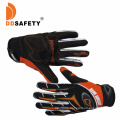 Full Finger Leather Sport Motorcycle Bike Bicycle Racing Cycling Hand Gloves Custom, Anti Slip Spandex Touch Screen Sport Gloves with Vecro Strap Manufacturers
