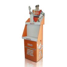 Werbe-Karton-Display Regal-Halter, Retail Store Dumpbins Display