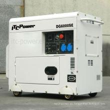 5kva generador diesel tipo silencioso, grupo electrógeno, motor diesel