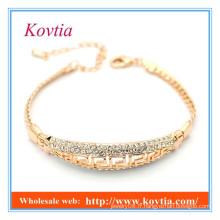 Bracelet en or cristal 18k