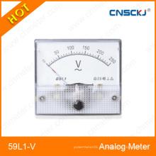 Medidor de panel analógico de voltaje 59L1-V