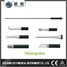 Fábrica Diretamente Coagulação Instrumentos 3mm L Gancho Monopolar Eletrodo