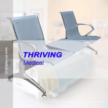 Chaise d'attente d'accompagnement d'hôpital en acier inoxydable à bas prix (THR-YD1026-T)