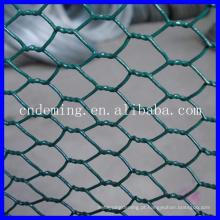 Barato!!! 2014 novo design Galvanizado ou PVC revestido Hexagonal Wire Mesh Para jardim fenc (direto fábrica grossistas)