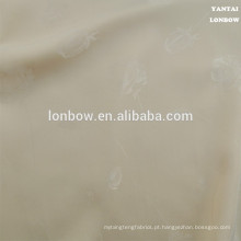 Tecido de forro de cetim estampado rosa para tecido