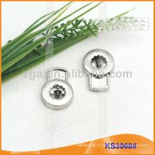 Bouchon de cordon métallique ou bascule pour vêtements, sacs à main et chaussures KS3068 #