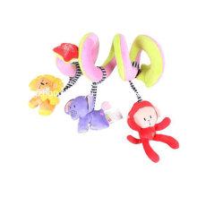 Fábrica de suministros infantiles de peluche de espiral de juguete