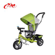 Hochwertiges Stahlrahmen-faltendes Babydreirad mit EVA / Luft-Reifen / billig Babywandererdreirad-Fahrradmultifunktion
