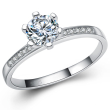 Hot Selling Silver Jewellery Silver Engagement Ring